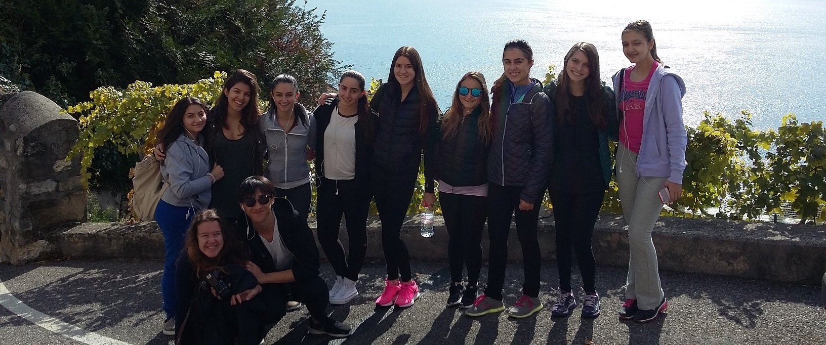 Lavaux trip with students