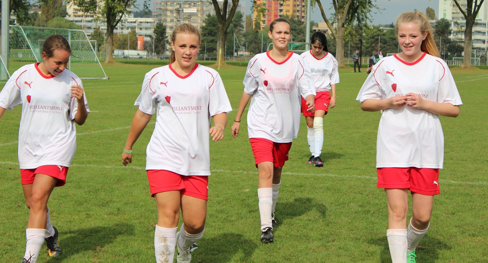 Girls Football Brillantmont