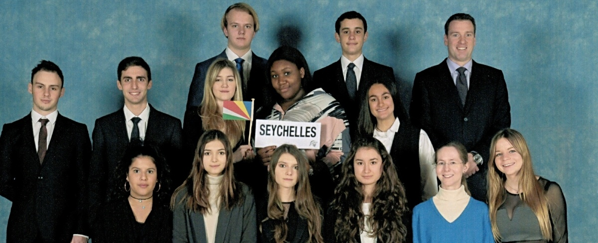 Model United Nations Experience for Brillantmont students in 2017