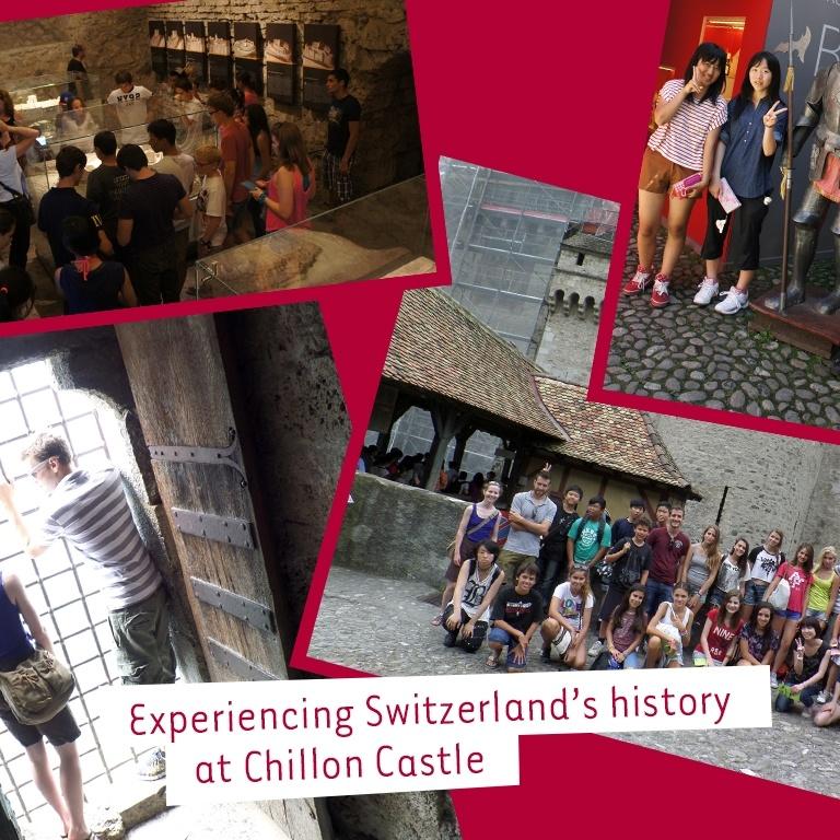 Chateau Chillon in Montreux