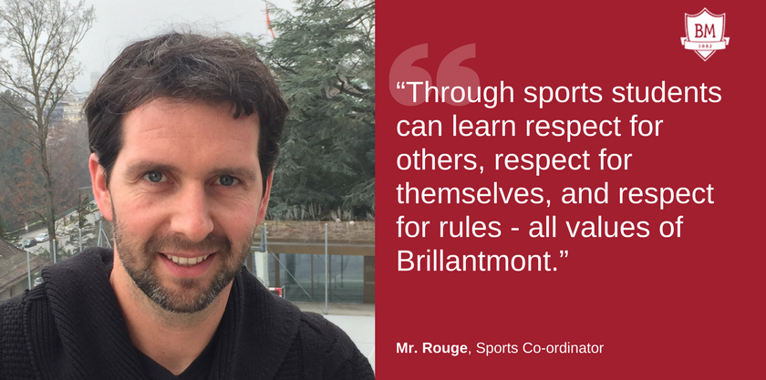 Mr. Rouge Sports Co-ordinator at Brillantmont
