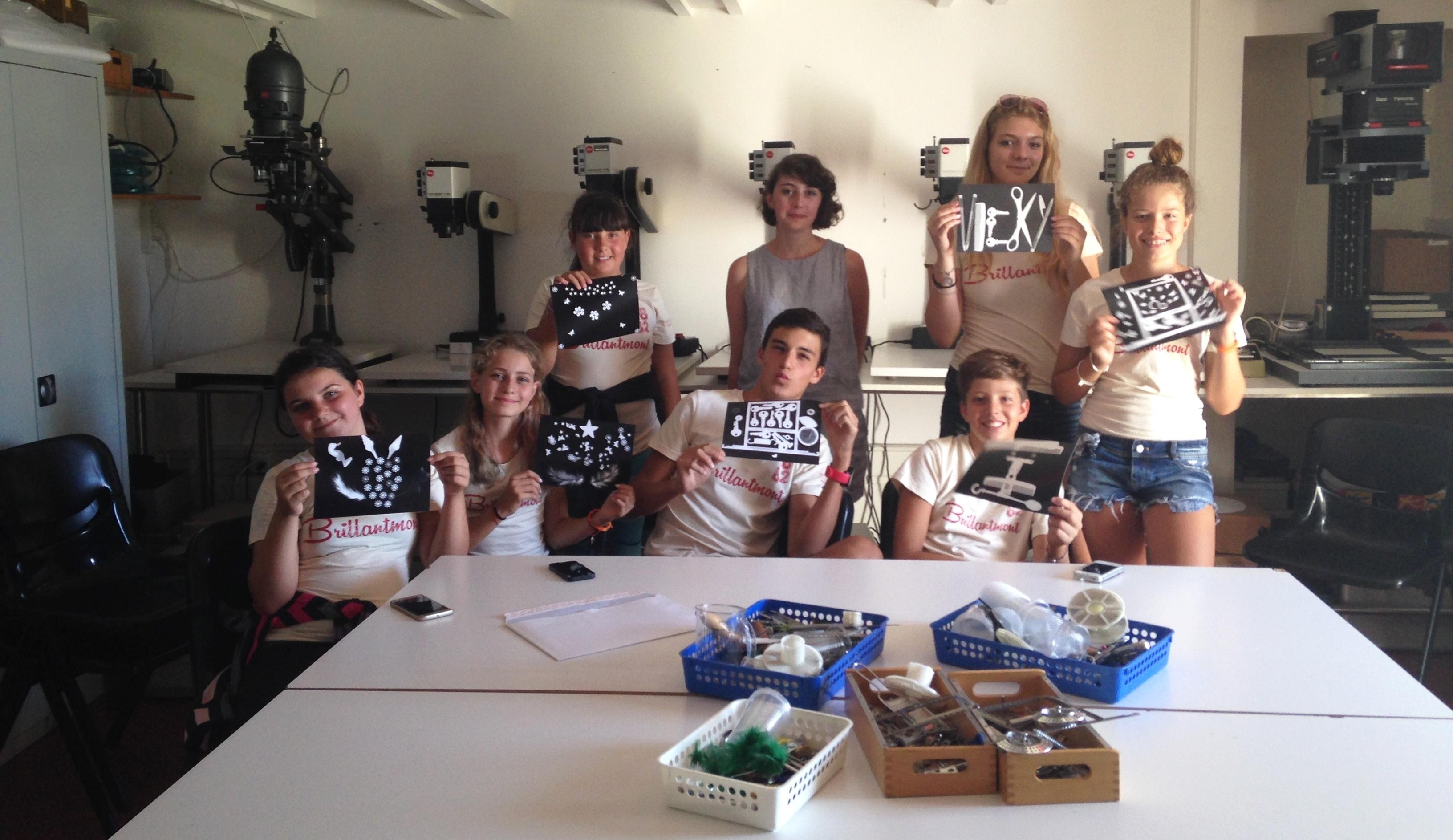 Brillantmont Summer Course students