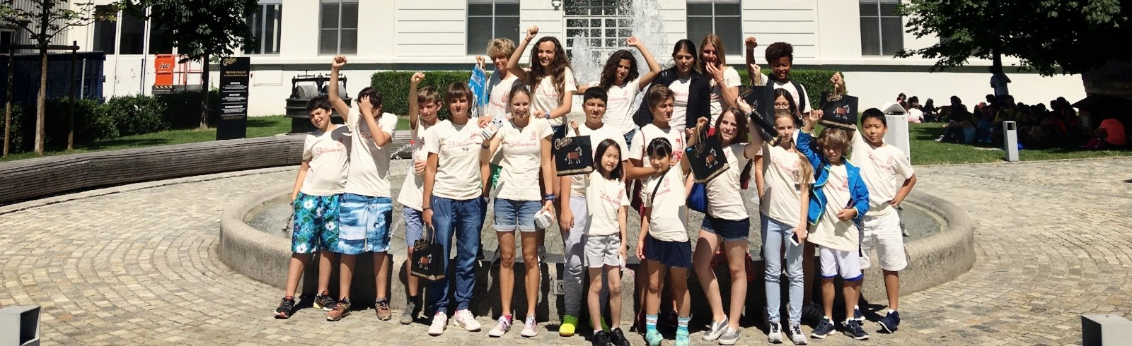 Swiss Boarding School children