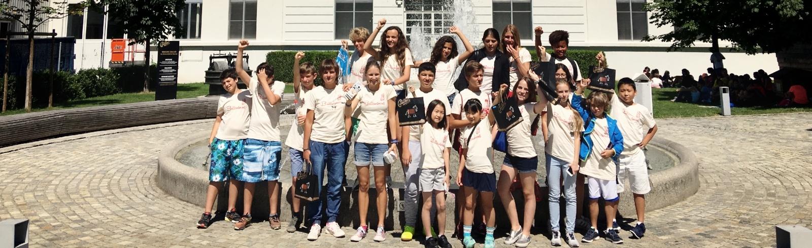 Swiss Boarding School children