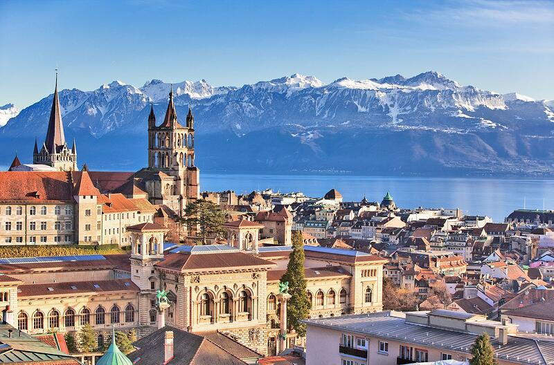lausanne capital of sports