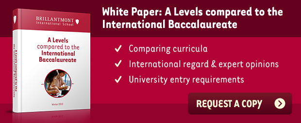 Comparing A Levels with the International Baccalaureate | Request your copy »